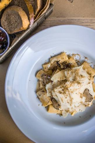 rigatoni with black truffle at nice n easy (facebook.com - nice n easy kifisia)