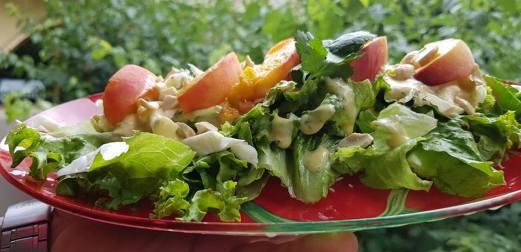 salad at vegan beat (facebook.com - vegan beat)
