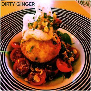 Burrata Oriental at Dirty Ginger (@DirtyGingerAthens)